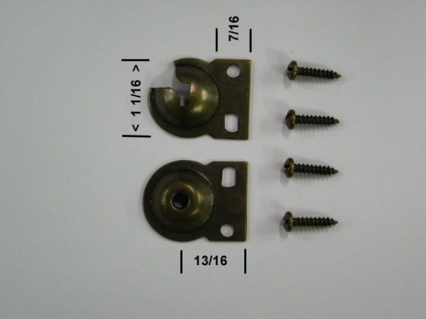 window shade screw button